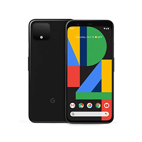 Image of Google Pixel 4 - Just Black - 64GB - Unlocked