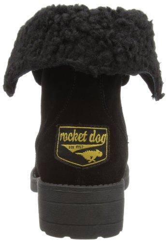 Rocket Noir Dog Tacey En Daim Bottes Femme X1Xpwxr