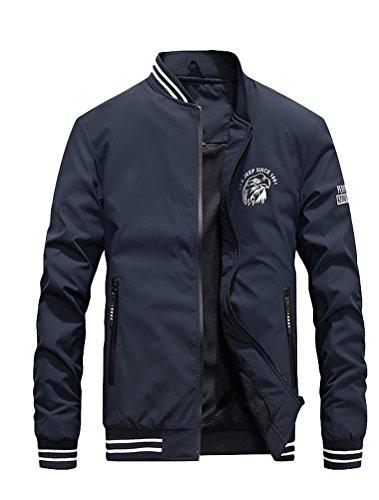 hombre Oscuro Abrigo Azul para MatchLife T8H4Bxq