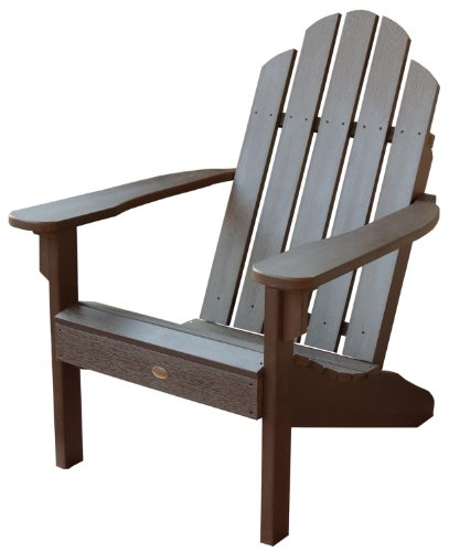 Highwood Classic Westport Adirondack Chair, Weathered Acorn