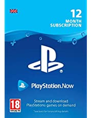 PlayStation Now - Subscription 12 Month PS4 Download Code - UK account