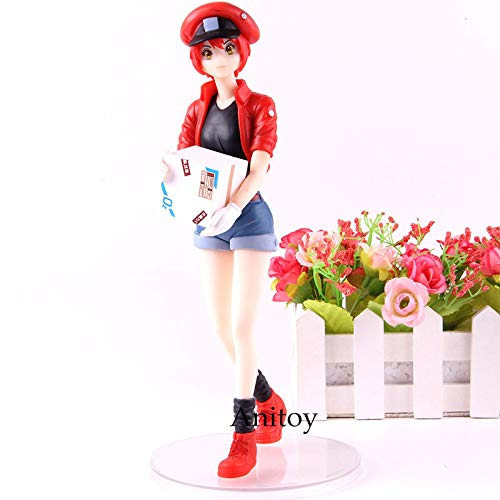 24cm (9.4 inch) Hataraku Saibou Action Figure / Cells at Work Red Blood Cell PVC Collection Model