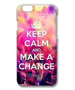 iphone 5c Case, Keep Calm and Make a Change Case for iphone 5c 3D PC Material