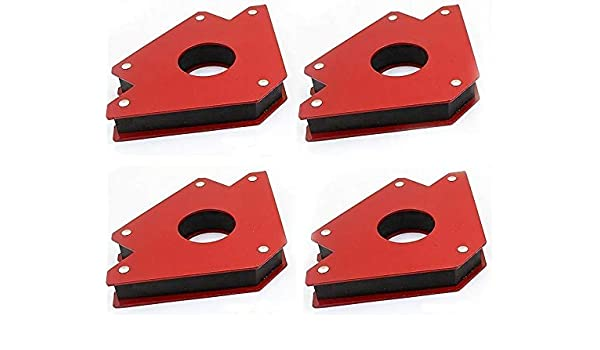 9TRADING 4pc new 4 50lb Strength Strong Welding Magnetic Arrow Holder Magnets Magnet