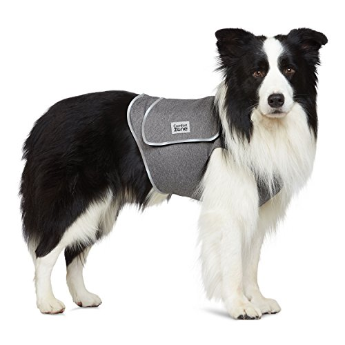 Comfort Zone Calming Vest for Dogs, Medium, For Thunder and Anxiety