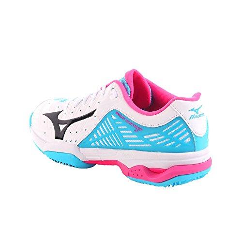 Black Femme Blueatoll CC Mizuno 001 2 White Sneakers Multicolore Wave Exceed Basses fxqw7zH