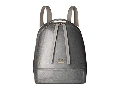 Furla Women's Candy Cake Small Backpack Color Silver One Size