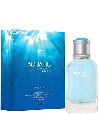 Aquatic Tides Men By Preferred Fragrance Inspired by LIGHT BLUE BY D&G FOR MEN by Preferred Fragrances