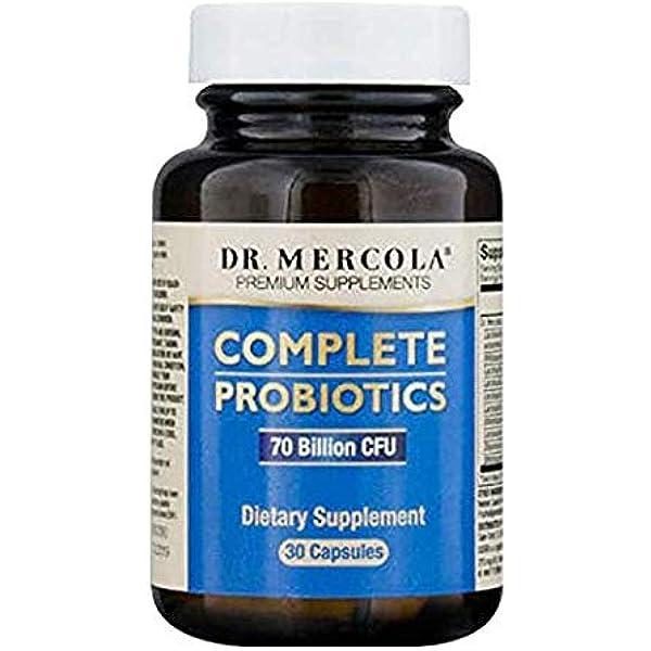 Dr. Mercola, las primas suplementarias, Probióticos Completos, x30 Cápsulas: Amazon.es: Salud y cuidado personal