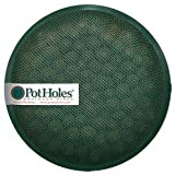 "Potholes Pot Drainage Discs for Pots 10"" to 14"". Reusable Discs! Makes Potting plants Simple! Superior Plant Health for Indoor or Outdoor Plants - 6.5"" (M) (2 Disks) (2)"