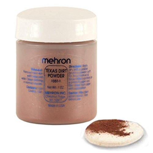Mehron Texas Dirt Special Effects Makeup Powder (1 oz)