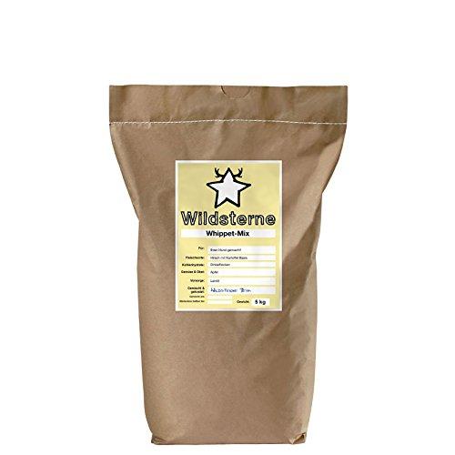 Wildsterne individuelles Hundefutter, Whippet-Mix Trockenfutter für Ihren Hund, Alter: 1 Jahr, Gewicht: 15 kg, 1er Pack (1 x 5 kg)