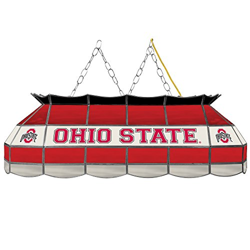 (NCAA Ohio State University Tiffany Gameroom Lamp, 40