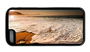 Hipster fun iPhone 5C cases Beach Photo TPU Black for Apple iPhone 5C