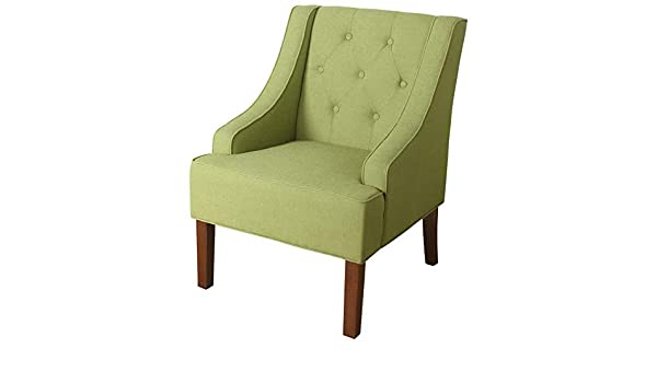 Amazon.com: Hebel Kate Tufted Swoop Arm Accent Chair | Model CCNTCHR - 70 |: Kitchen & Dining
