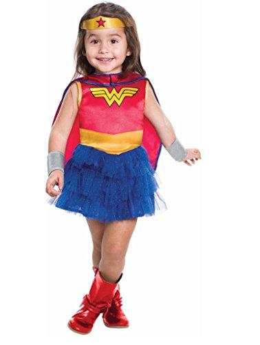 Rubie's Toddler Girls Wonder Woman Tutu Dress Costume (2T) -