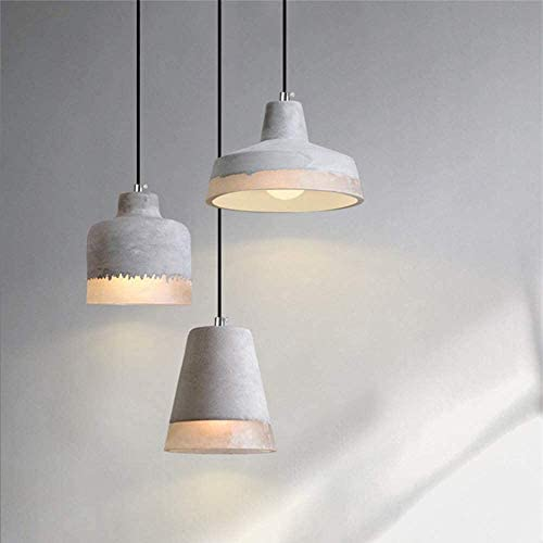 Classic E27 Chandeliers Creative Suspension Lighting Hanging Light The Modern Chandelier Cement Decoration Room Lamp Cafe Dining Room Villa The Living Room Kitchen