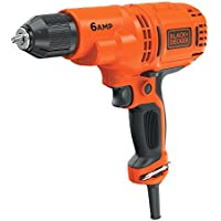 Black+Decker Dr340C 6.0 Amp 3/8 Drill/Driver Overview