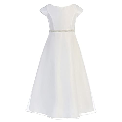 White Confirmation Dresses for Adults