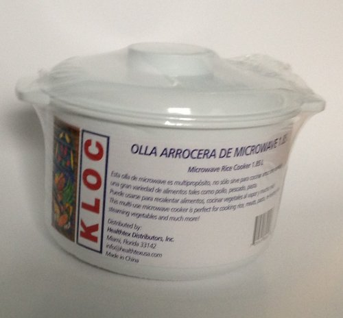 Kloc - Arrocera para microondas: Amazon.es: Hogar