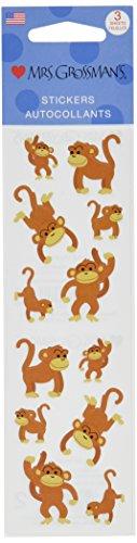 Mrs Grossman Stickers-Playful Monkeys