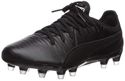 PUMA King PRO FG Sneaker, Black White, 9 M US