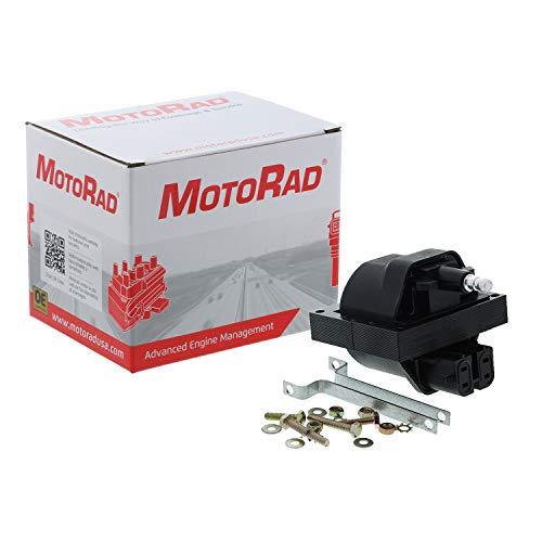 MotoRad 3IC108 Ignition Coil | Fits select Chevrolet Blazer, C/K 1500, 2500, 3500, Camaro, G10, G20, S10, S10 Blazer, Jimmy, S15 Jimmy, Safari, Sonoma, Yukon, Pontiac Firebird, Grand Am, Trans Sport