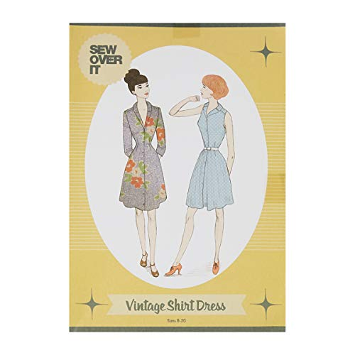 Sew Over It UK Sew Over It Vintage Shirt Dress Pattern Multi