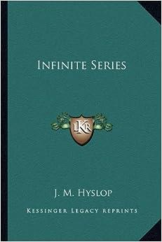 Book Infinite Series