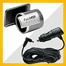 Blackvue DR400G-HD II Window Mount and 15ft Car Cigar Jack Power cable