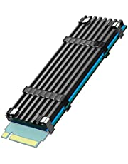 GLOTRENDS M.2 Heatsink Kits fit for PS5/PC, 0.12inch(3mm) Thick M.2 Cooling Fin for 2280 M.2 PCIe NVMe SSD