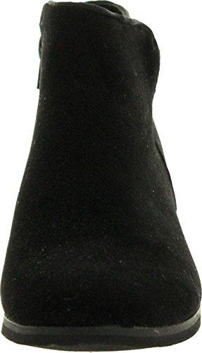 Reneeze BEAUTY 03 Women Sneaker Petty Stacked Heel Side Zipper Ankle Booties Ankle Bootie