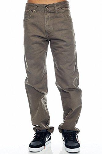 Zipper Cotton Men Jeans - 9