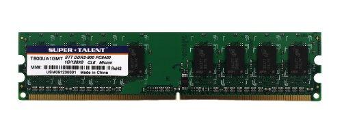 Super Talent DDR2-800 1GB/128x8 Micron CL6 Memory ()