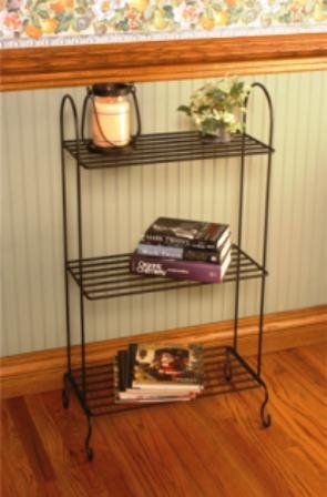 Ju0026J Wire Freestanding Plant Stand With Shelves