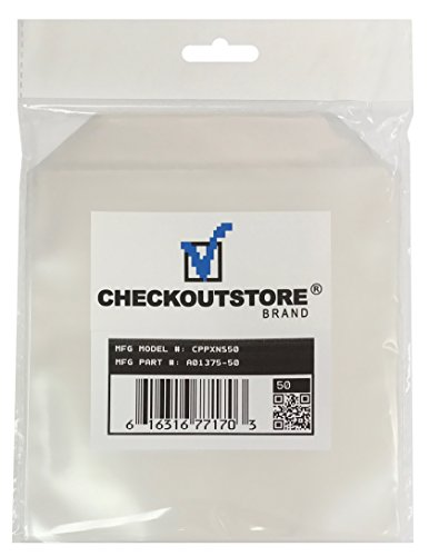 50 CheckOutStore Clear Storage Pockets (6 x 6) ()