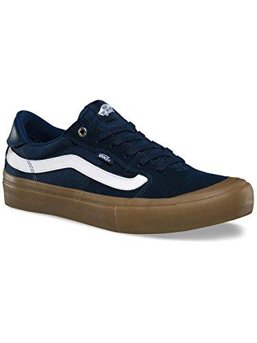 Camionnettes - Hommes De Style 112 Chaussures De Skate Pro Marine / Gomme / Blanc