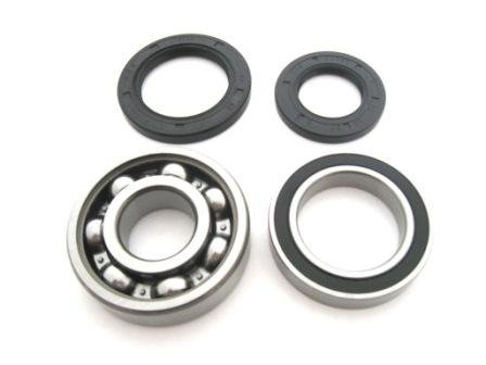 Rear Axle Bearings and Seals Kit Yamaha YFM350FW Big Bear 1996-1999 (Bear Big Tires Yamaha)