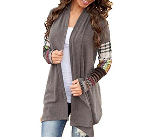 Womens Casual Long Sleeve Knitwear Jumper Cardigan Sweater Pullover - 9