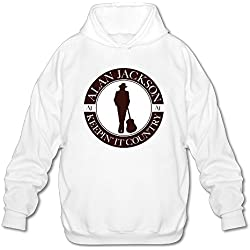 Alan Jackson Tour 2016 Men's Cool Hooded Sweatshirt