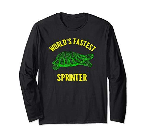 (World's Fastest Sprinter Long Sleeve Shirt)