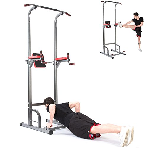 Lx Free Power Tower - Home Gym Adjustable Multi-Function Fitness Equipment Pull Up Bar Stand Workout Station by Lx Free (Image #6)