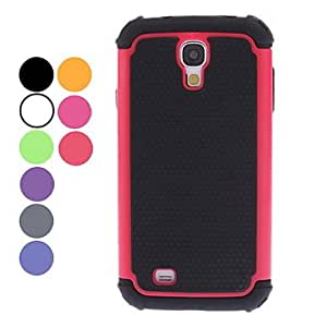 Detachable Football Grain Design Hard Case for Samsung Galaxy S4 I9500 (Assorted Colors) --- COLOR:Black