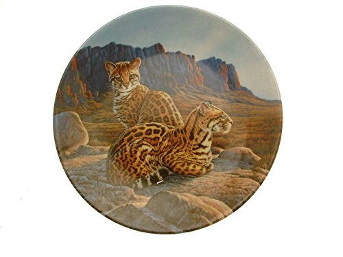 Bradford Exchange Great Cats of The Americas The Ocelot Plate Lee Cable GB168