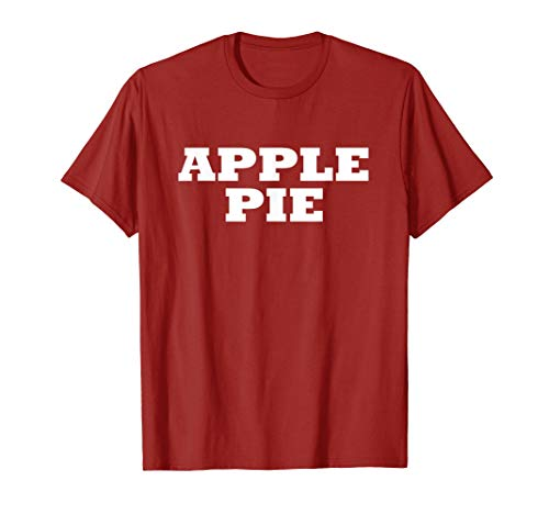 Apple Pie Food Halloween Last Minute Costume Party -