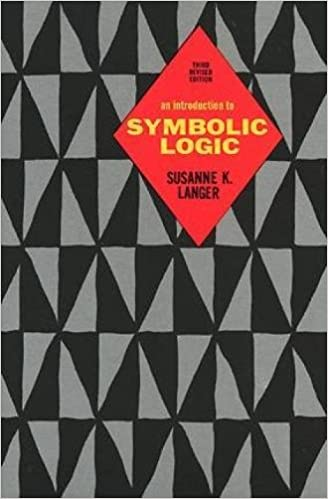 An Introduction To Symbolic Logic 3rd Edition Susanne K Langer