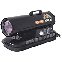 Mi-T-M MH-0075-0M10 Kerosene Forced Air Space Heater, 75000 BTU
