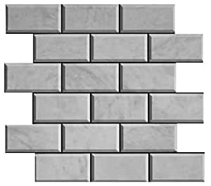 M rmol de carrara italiano blanco bianco carrara 2 x 4 de for Color marmol carrara