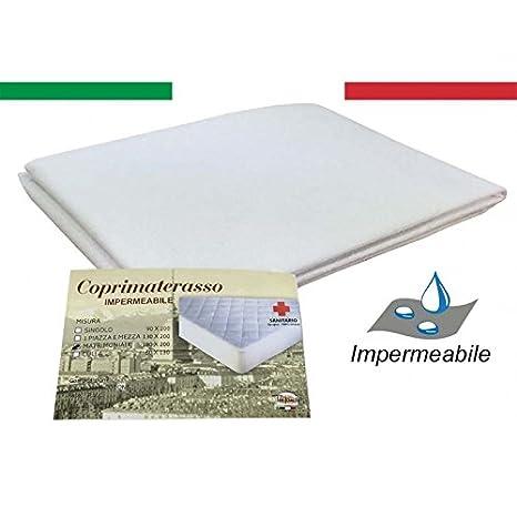 tex family Protector de colchón Impermeable Sanitario PVC Calidad Extra - 1 Plaza: Amazon.es: Hogar