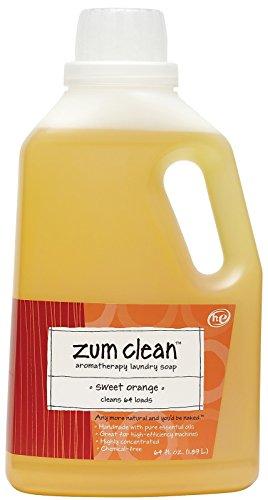 - Zum, Laundry Liquid Clean Sweet Orange, 64 Fl Oz